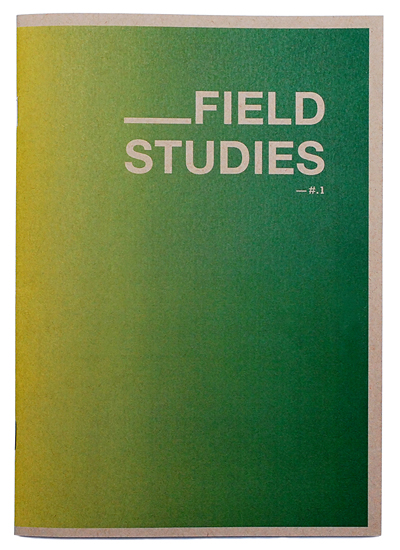 Field studies cover* copy